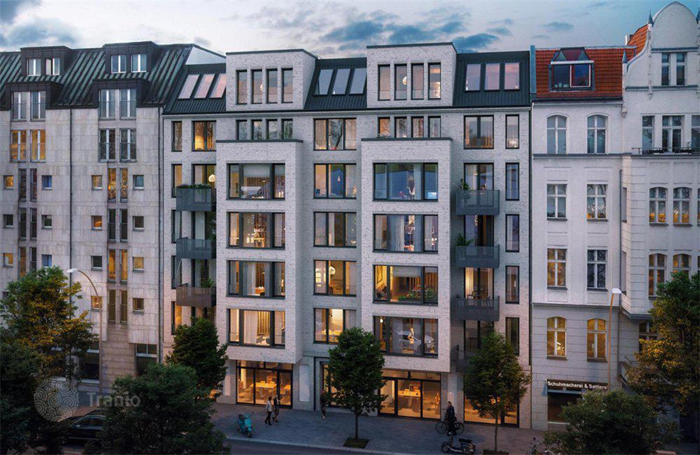 德国柏林Wilmersdorf 新建住宅公寓 便捷位置 优越社区