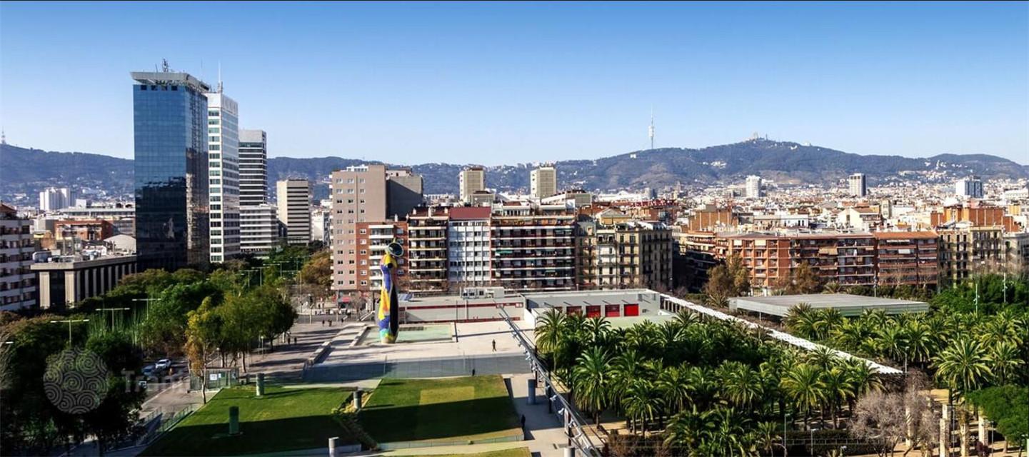 西班牙 巴塞罗那Les Corts 两居室公寓